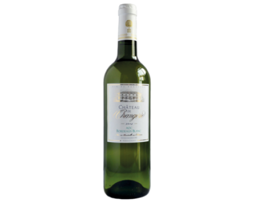 Вино Chateau de Orangeries Bordeaux Blanc белое сухое 0,75 л