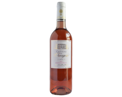Вино Chateau de Orangeries Bordeaux Rose розовое сухое 0,75 л