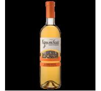 Вино Крымский Погребок Алиготе белое сухое 0,75 л