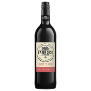 Вино Banrock Station красное полусухое 0,75 л