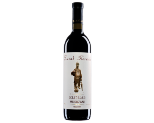 Вино Зураб Церетели Мукузани красное сухое 0,75 л