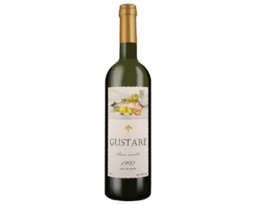 Вино Густаре белое полусладкое 0,7 л