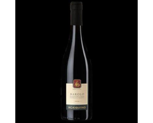 Вино Scanavino Barolo DOCG красное сухое 0,75 л