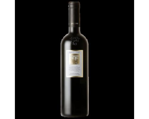 Вино Apollonio Valle Cupa красное сухое 0,75 л