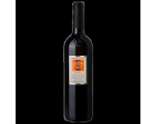 Вино Appolonio Terranolo Primitivo красное сухое 0,75 л
