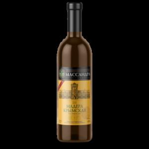 Вино ликерное Массандра Мадера Крымская белое 0,75 л