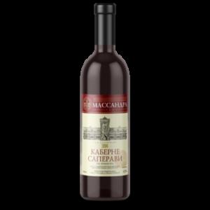 Вино Массандра Каберне Саперави красное сухое 0,75 л