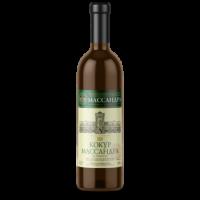 Вино Массандра Кокур белое полусладкое 0,75 л