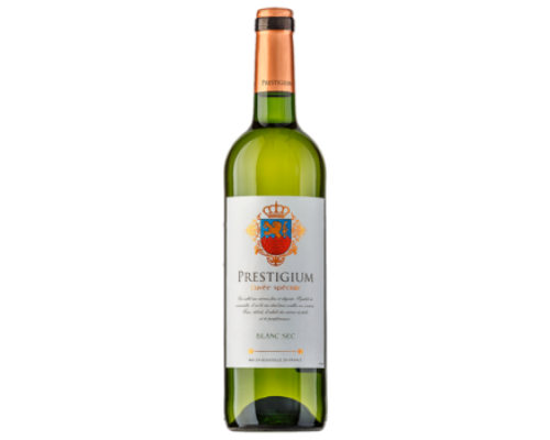 Вино Prestigium белое сухое, 0,75 л