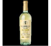 Вино Новое Русское Вино Шардоне белое сухое 0,75 л
