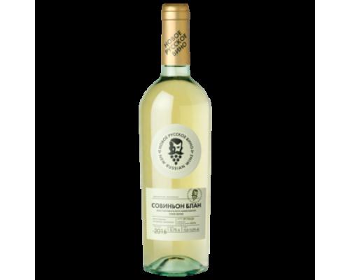 Вино Новое Русское Вино Совиньон белое сухое 0,75 л