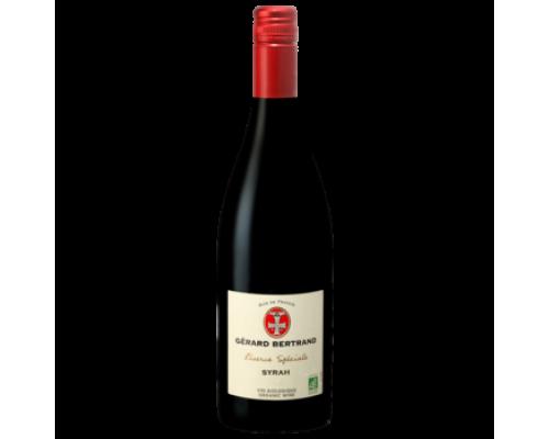 Вино Gerard Bertrand Syrah красное сухое 0,75 л