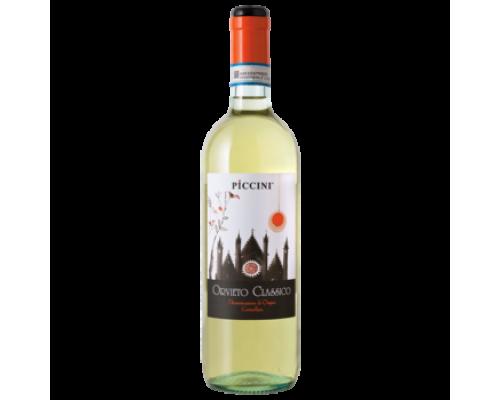 Вино Piccini Orvieto Classico белое сухое 0,75 л