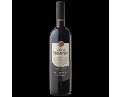 Вино Тайна Колхиды Напаурели красное сухое 0,75 л