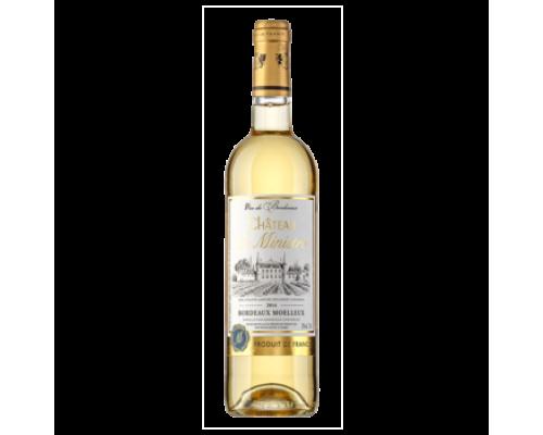 Вино Cateau le Ministre белое полусладкое, 0,75 л