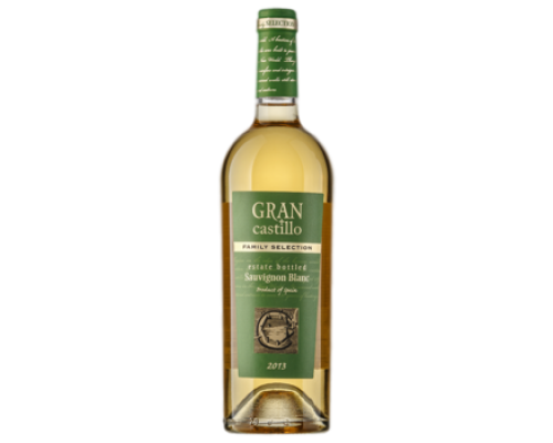 Вино Gran Castillo Family selection Sauvignon белое полусухое 0,75