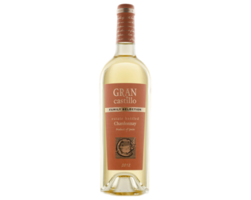 Вино Gran Castillo Family selection Chardonnay белое полусухое, 0,75 л