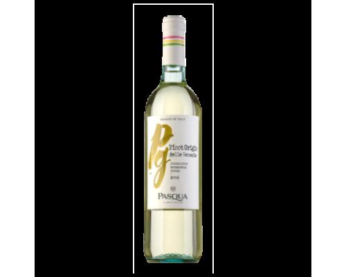 Вино Pasqua Pinot Grigio белое полусухое 0,75 л