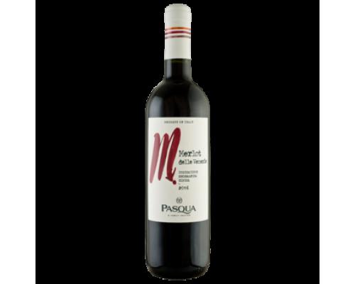 Вино Pasqua Merlot красное полусухое 0,75 л