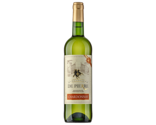 Вино Chevalier de Pierre Chardonnay белое сухое 0,75 л