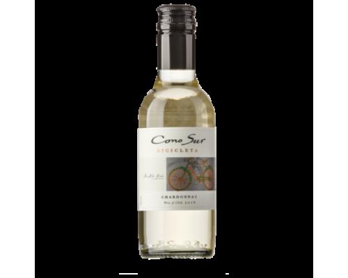 Вино Cono Sur Bicicleta Chardonnay белое сухое 0,187 л