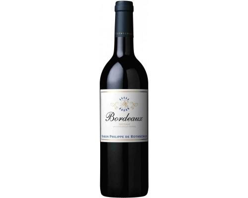 Вино Bordeaux Bordeaux AOC Rouge 2014 0.375 л