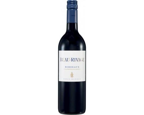 Вино Borie-Manoux Beau-Rivage Rouge Bordeaux AOC 2012