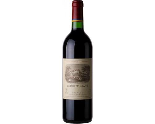 Вино Carruades de Lafite Pauillac AOC 2012 1.5 л