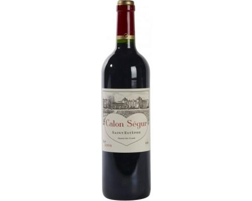 Вино Chateau Calon-Segur Saint-Estephe 3-eme Grand Cru Classe 2004