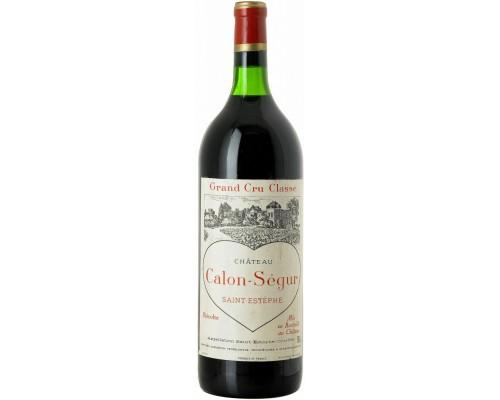 Вино Chateau Calon-Segur Saint-Estephe 3-eme Grand Cru Classe 2004 1.5 л