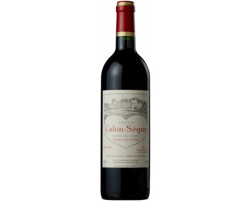 Вино Chateau Calon-Segur Saint-Estephe 3-eme Grand Cru Classe 2013