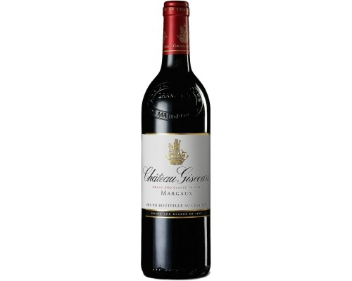 Вино Chateau Giscours Margaux AOC 3-me Grand Cru 2013 1.5 л