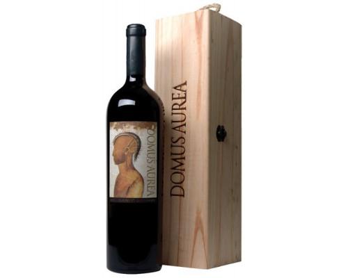 Вино Clos Quebrada De Macul Domus Aurea Cabernet Sauvignon 2008 in wooden box 6 л