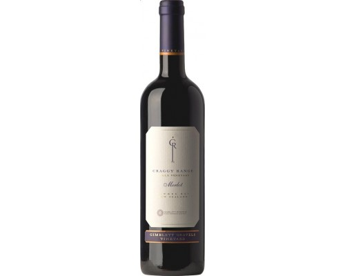 Вино Craggy Range Merlot Gimblett Gravels Vineyard 2010