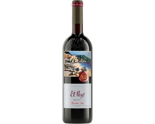 Вино El Paso Merlot Seco
