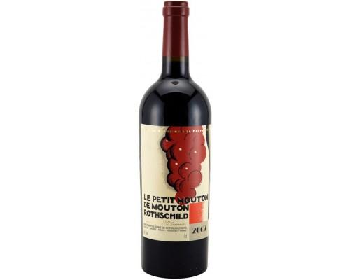 Вино Le Petit Mouton De Mouton Rothschild 2007