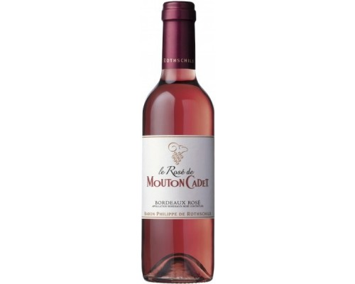 Вино Le Rose de Mouton Cadet Bordeaux AOC 2014 0.375 л