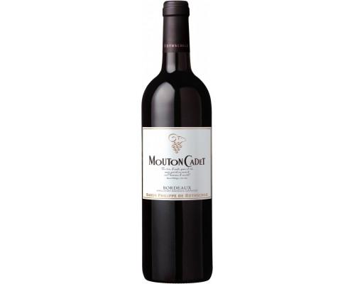 Вино Mouton Cadet Bordeaux AOC Rouge 2013