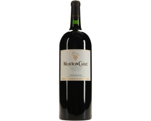 Вино Mouton Cadet Bordeaux AOC Rouge 2013 1.5 л