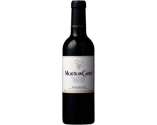 Вино Mouton Cadet Bordeaux AOC Rouge 2013 0.375 л