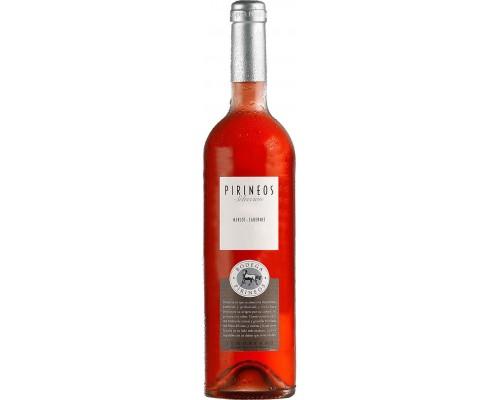 Вино Pirineos Seleccion Merlot-Cabernet Rosado Somontano DO