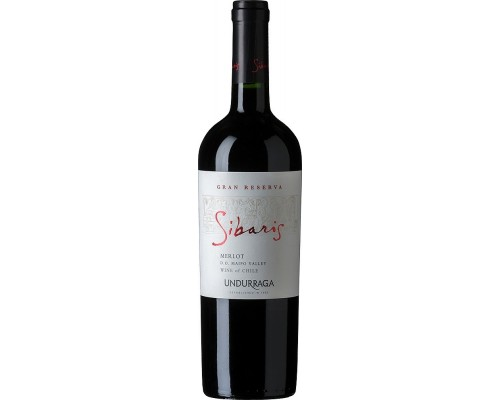 Вино Undurraga Sibaris Merlot Gran Reserva Maipo Valley DO 2014