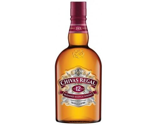 Виски Chivas Regal 12 years old 0.7 л