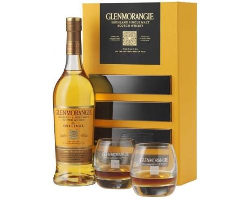 Виски Glenmorangie The Original with 2 glasses in gift box 0.7 л