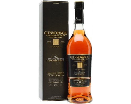 Виски Glenmorangie The Quinta Ruban in gift box 0.7 л