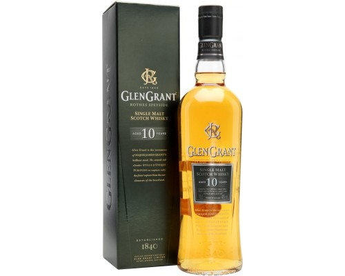 Виски Glen Grant 10 YO with gift box 0.7 л