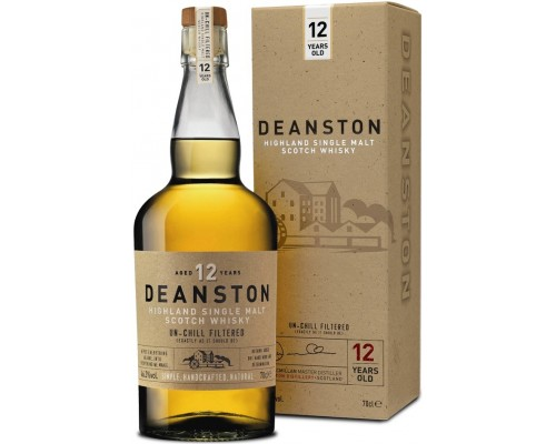 Виски Deanston Aged 12 Years gift box 0.7 л