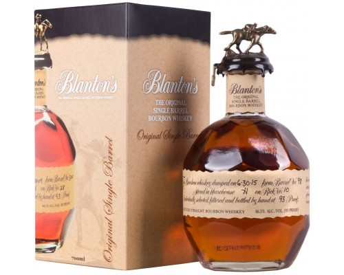 Виски Blanton's Original gift box 0.7 л