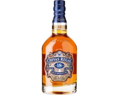 Виски Chivas Regal 18 years old 0.5 л