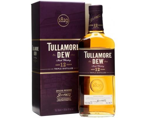 Виски Tullamore Dew 12 years gift box 0.7 л